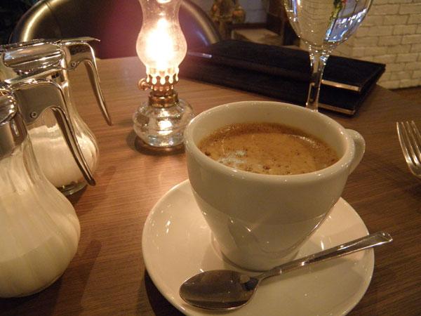 MiLKcafe(ミルクカフェ)で注文したコーヒー