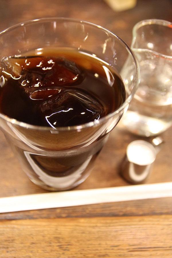アラビヤコーヒーで注文したアイスコーヒー