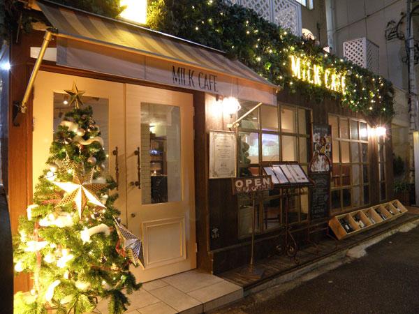 MiLKcafe(ミルクカフェ)外観