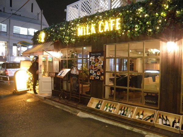 原宿 MiLKcafe(ミルクカフェ)をレポート
