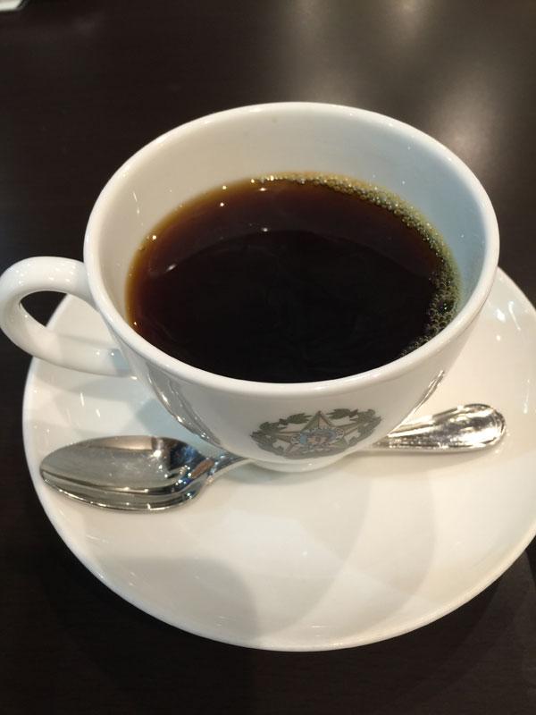 カフェーパウリスタで飲んだコーヒー