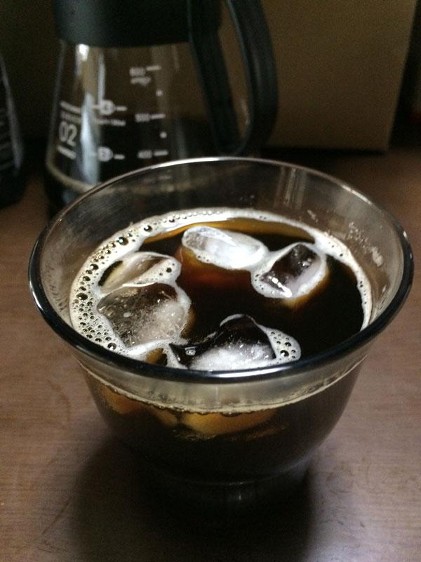 フレンチローストアイスコーヒー