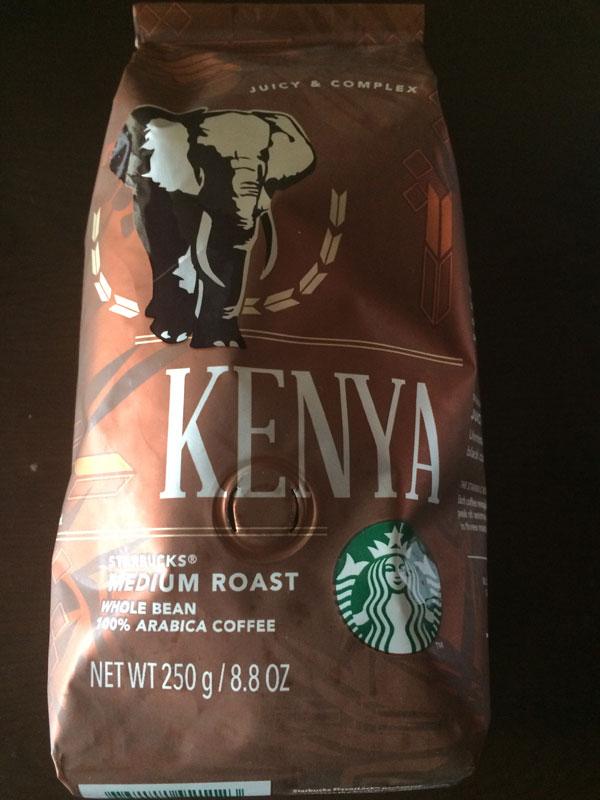 スタバのコーヒー豆「ケニア」のレビュー