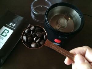 コーヒー粉の分量
