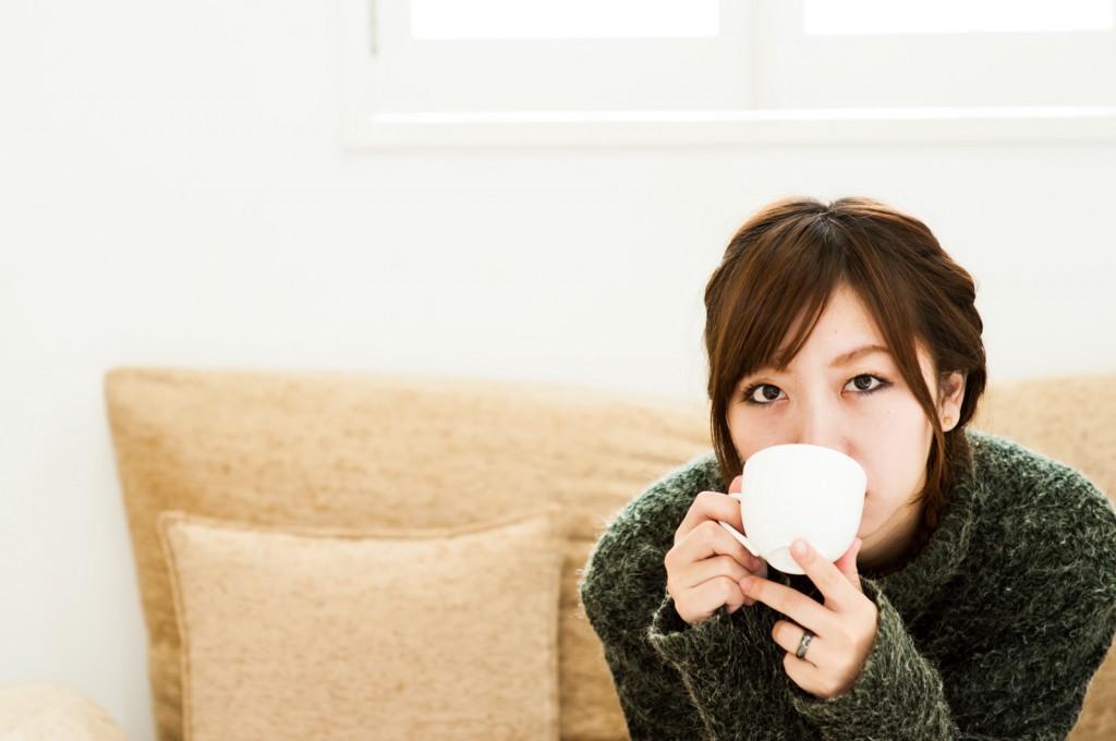 コーヒーを飲むと冷え性になる?
