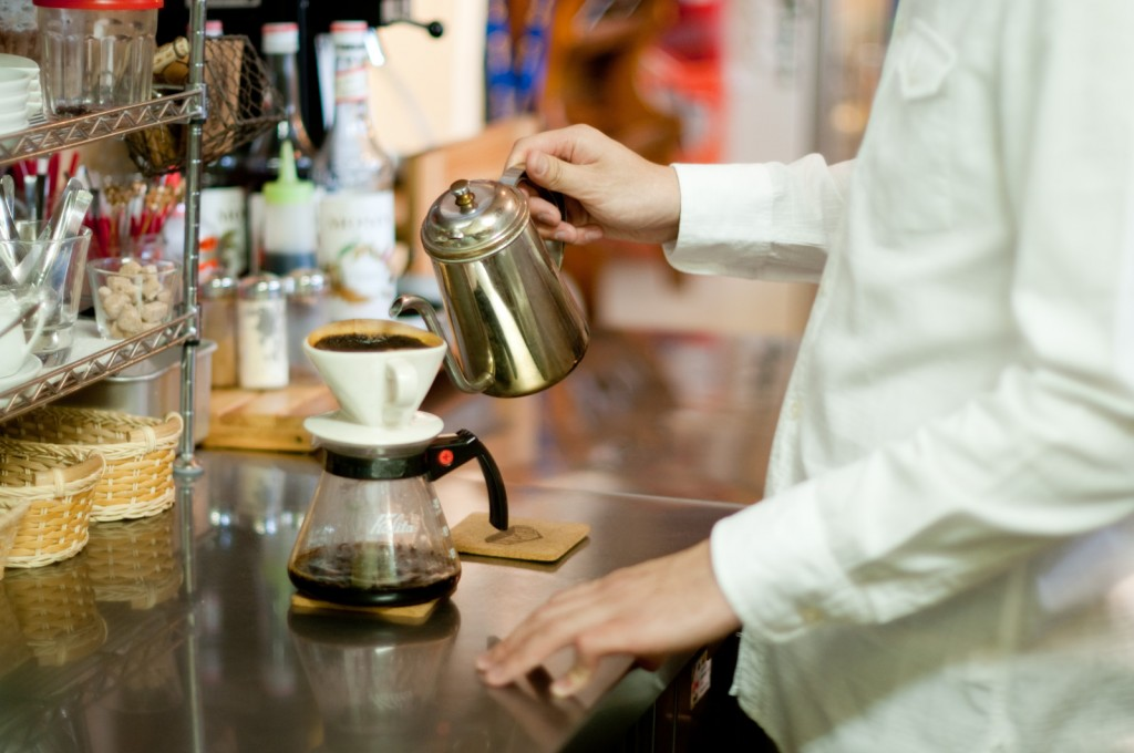 色々な種類のコーヒーの抽出方法